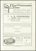 1935 St. Louis University High School Yearbook Page 108 & 109