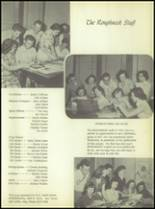 1956 Crooked Oak High School Yearbook Page 10 & 11