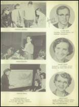 1956 Crooked Oak High School Yearbook Page 22 & 23