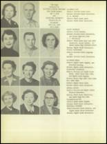 1956 Crooked Oak High School Yearbook Page 28 & 29