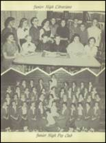1956 Crooked Oak High School Yearbook Page 32 & 33
