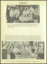 1956 Crooked Oak High School Yearbook Page 36 & 37