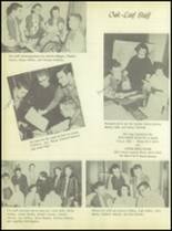 1956 Crooked Oak High School Yearbook Page 38 & 39