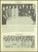 1956 Crooked Oak High School Yearbook Page 42 & 43