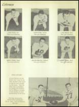 1956 Crooked Oak High School Yearbook Page 54 & 55