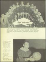 1956 Crooked Oak High School Yearbook Page 56 & 57