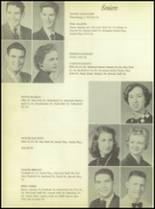 1956 Crooked Oak High School Yearbook Page 60 & 61