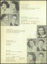 1956 Crooked Oak High School Yearbook Page 62 & 63