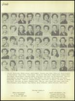 1956 Crooked Oak High School Yearbook Page 72 & 73