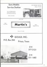 1975 Frisco High School Yearbook Page 28 & 29