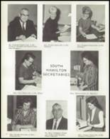 1969 South Hamilton High School Yearbook Page 16 & 17