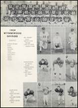 1960 Wynnewood High School Yearbook Page 92 & 93