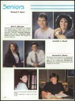 1992 Oak Hill High School Yearbook Page 34 & 35
