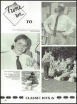 1992 Oak Hill High School Yearbook Page 62 & 63