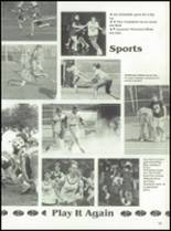 1992 Oak Hill High School Yearbook Page 82 & 83