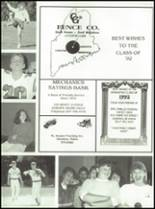 1992 Oak Hill High School Yearbook Page 126 & 127
