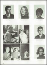 1970 Donora High School Yearbook Page 20 & 21
