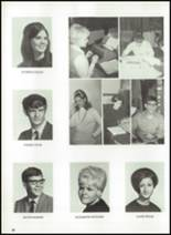 1970 Donora High School Yearbook Page 36 & 37