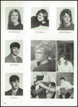 1970 Donora High School Yearbook Page 42 & 43