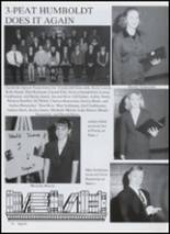 1999 Humboldt High School Yearbook Page 38 & 39