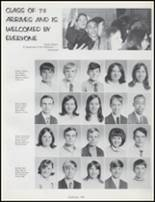 1970 Osbourn High School Yearbook Page 140 & 141