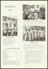 1963 Taylors Falls High School Yearbook Page 62 & 63