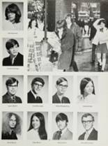 1972 Liberty High School Yearbook Page 142 & 143