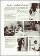 1982 West Bend High School Yearbook Page 100 & 101