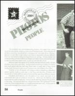 2001 Nashville High School Yearbook Page 38 & 39
