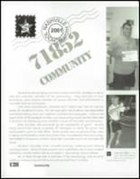 2001 Nashville High School Yearbook Page 132 & 133