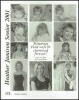 2001 Nashville High School Yearbook Page 176 & 177