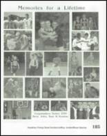2001 Nashville High School Yearbook Page 188 & 189
