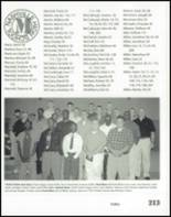 2001 Nashville High School Yearbook Page 216 & 217