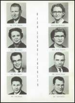 1956 Clyde High School Yearbook Page 12 & 13