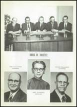 1956 Clyde High School Yearbook Page 14 & 15