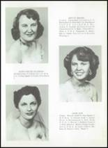 1956 Clyde High School Yearbook Page 16 & 17