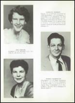 1956 Clyde High School Yearbook Page 18 & 19