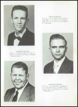 1956 Clyde High School Yearbook Page 20 & 21