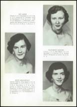 1956 Clyde High School Yearbook Page 22 & 23