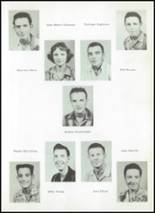 1956 Clyde High School Yearbook Page 28 & 29