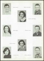 1956 Clyde High School Yearbook Page 42 & 43