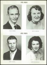 1956 Clyde High School Yearbook Page 54 & 55
