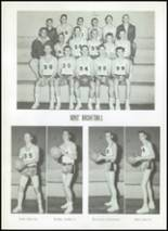1956 Clyde High School Yearbook Page 68 & 69