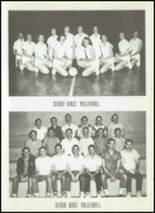 1956 Clyde High School Yearbook Page 74 & 75
