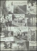 1956 Clyde High School Yearbook Page 80 & 81