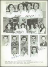 1956 Clyde High School Yearbook Page 86 & 87