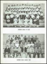 1956 Clyde High School Yearbook Page 104 & 105
