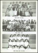 1956 Clyde High School Yearbook Page 108 & 109