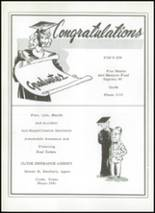1956 Clyde High School Yearbook Page 112 & 113