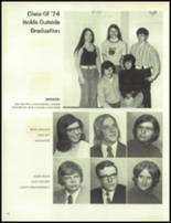 1974 North Central High School Yearbook Page 98 & 99